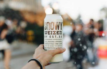 ลองกันหรือยัง!! เบียร์ปุยหิมะจากสิงห์ SNOWY WEIZEN BY EST.33